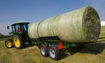 Frontier Hay Equipment For Merging Dry Crops and Forming Hay